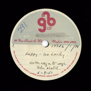 Happy-Go-Lucky, BBC Light Programme, 6th September 1951